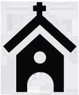 wedding planner icon – church